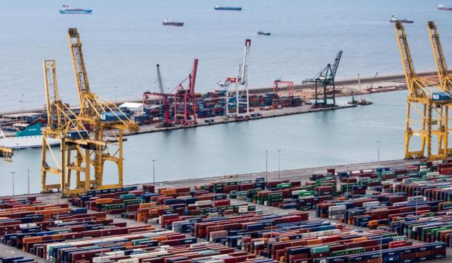 Franjas horarias puerto de Barcelona