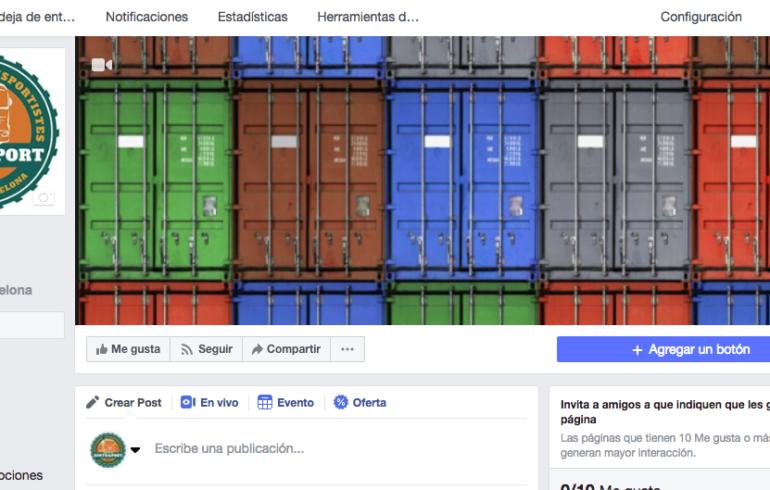 Sintraport abre una página en facebook para ofrecer más información a asociados